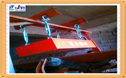 悬挂式永磁除铁器工作原理