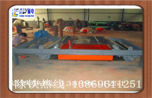超强磁力RCYD-12自卸式永磁除铁器 自卸式永磁铁 除铁设备