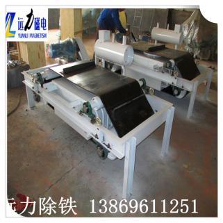 油冷式电磁除铁器的结构排列情况