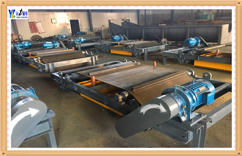 输送带自动除铁器-永磁自卸式除铁器
