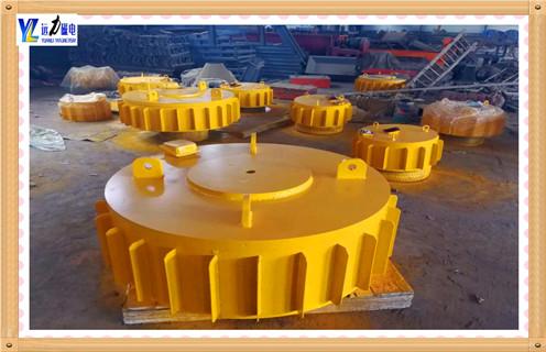 盘式电磁除铁器的技术特点介绍
