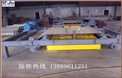 钢铁厂用RCYK系列铠甲式永磁自卸式除铁器800mm带宽