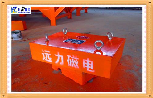 400*300*200输送带用大型磁铁 强磁除铁器砖厂木材厂,矿山用强磁除铁器-铁屑清除器简介,除铁器有很多种类型今天通过基本原理与性能特点简单的介绍一下强磁除铁器-铁屑清除器.   一:400*300*200输送带用大型磁铁 强磁除铁器砖厂木材厂基本原理    适用于热力系统流体中对铁磁性杂质的去除.特别适用于凝结水、低压给水、供热回水系统中铁磁性杂质的去除.对于空冷机组使用效果更佳.采用强磁材料NdFeB制作,具有磁力强(可吸起自身重量的640倍)、长期使用不退磁、不腐蚀(304不锈钢制作)、30年免维护、运行中不需要任何操作等优点.全自动除铁器可随时清理或定时清理,真正做到无人职守.装置获中国电力科技三等奖,1项发明专利.