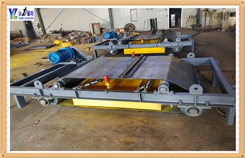 超高强磁RCYD悬挂自卸式永磁除铁器输送带皮带