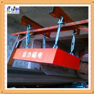 如何正确安装悬挂式永磁除铁器