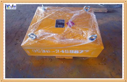远力磁电永磁带式除铁器安装尺寸
