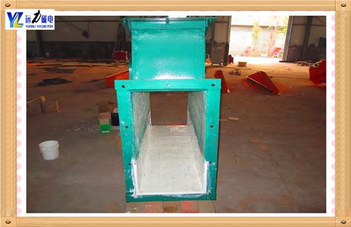 管道式自动除铁器工艺